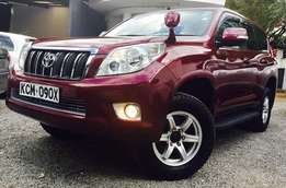 Toyota Prado KCM Wine red on Sae