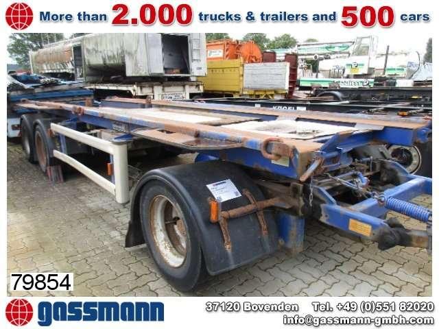 Hüffermann Hma 2420 Anhänger Für 2 X Absetzcontainer - 1999