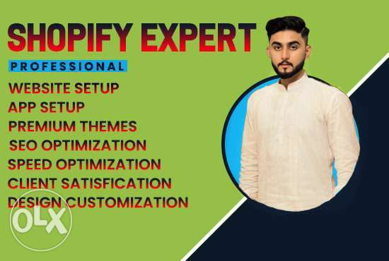 we create profitable shopify store and website