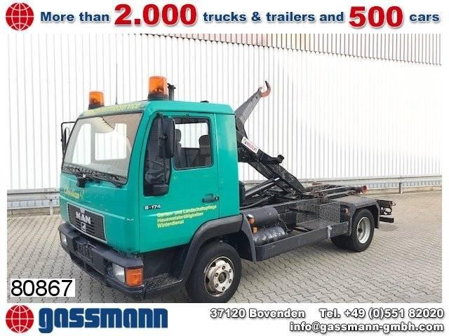 MAN l2000 8.174 4x2 bl, 2x ahk - 2000