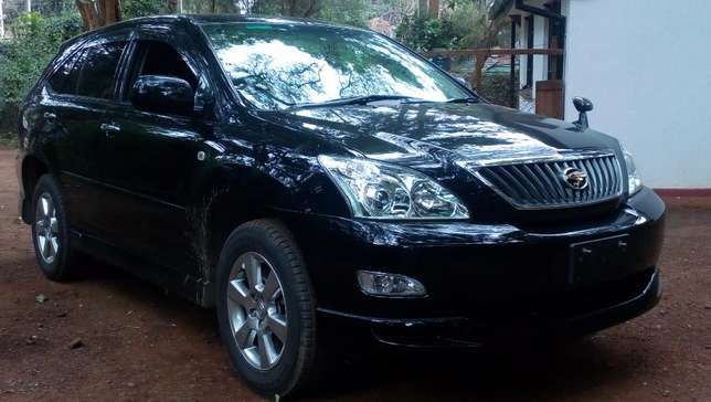 Toyota Harrier 2012 black fully loaded Westlands - image 8