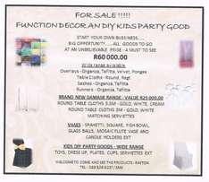 Function Decor and Diy Kidsparty Goods