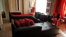 New black Leather couches