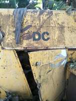 Assorted used construction machines and scrape