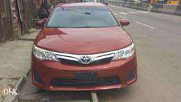 Clean Toyota Camry 2013 Red Colour Tok