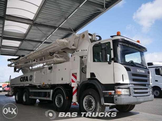 Scania P380 Cifa 48m. Boom - To be Imported Lekki - image 3