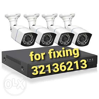 Camera fixing for security.,
