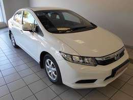 2012 Honda Civic Sedan 1.8 Comfort A/T 65500km R154995