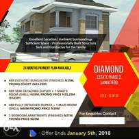 Affordable Homes: Introducing Diamond Estate Phase 2, Sangotedo