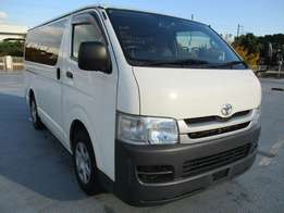 Toyota Hiase on quick sale