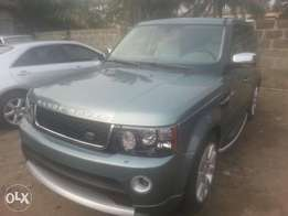 Tincan cleared tokunbo range rover sports 08 upgraded to 2012 fuloptio