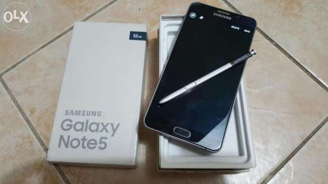 Samsung Galaxy Note 5 slightly used shs (28000) City Centre - image 1