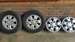 Ford Ranger T6 Mags x 4 2015 xIncl 2x Tyres