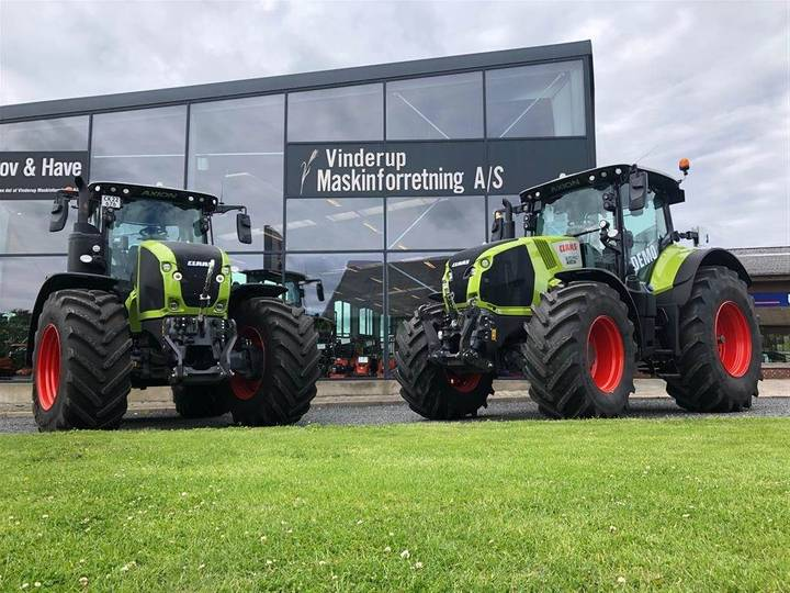 Claas Axion 870 Cmatic Demo - 2019