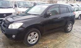 Black Rav 4 with back tyre: Cash or hire purchase