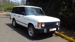 Fully rebuilt classic range rover. Diesel 2500cc. 5 speed manual