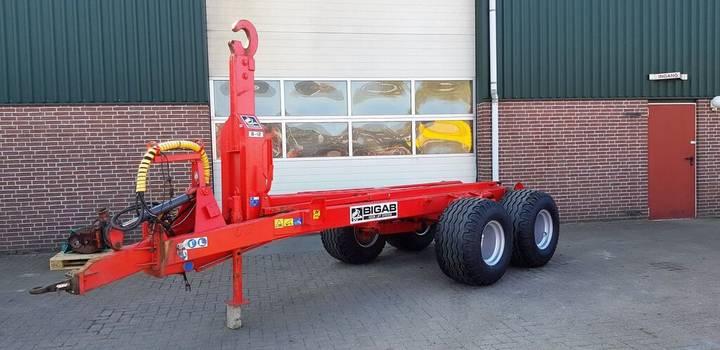 Trailer bigab 8-12 haakharemsysteem tractor