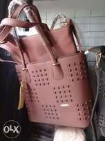 High quality Leather hand bags - 3 in one FOR 3K