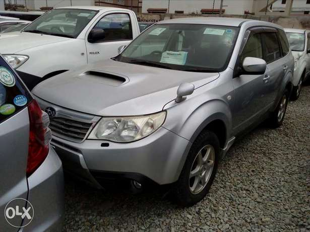 Turbo charged subaru forester grey color new plate number fresh import Mombasa Island - image 7