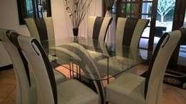 Lucci 7 Piece Dinning Room Set with free patio