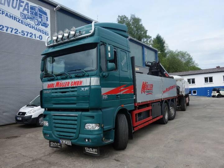 DAF XF 460 6x2 Baustoff - 2012