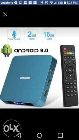Android 9.0 TV Box, Android TV Box with 2GB RAM 16GB ROM RK3328