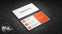 Get Quality and Beautifully Designed Business Card (#3500)