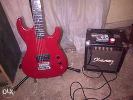 Sunny Guitar and Amp with extras