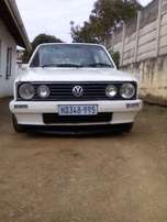 vw golf mk 1 with full service record and papers in order,accident fre