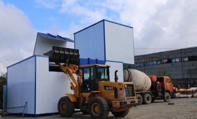 ZZBO flagman-15  concrete plant