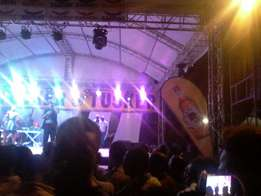stage,runway stage and all concert equipments for hire