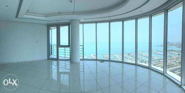 Sea view three bedroom apartment for rent in Shaab al bahri, Kuwait