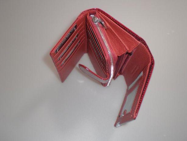 59da9973eb941 Damski portfel portfele ze skóry lakierowanej Jennifer Jones 5261-2 Pleszew  - image 5