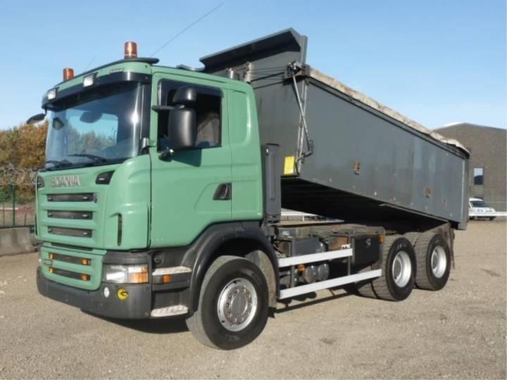 Scania G 480 - 6x4 - RETARDER - BLADGEVEERD - HANDGESCHAKELT - - 2009