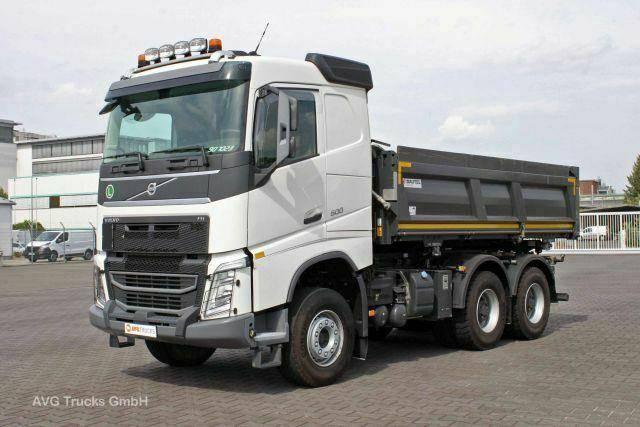 Volvo FH500 6X4 Liftbare Antriebsachse Bordmatik Liege - 2018