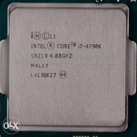 I7 4790k used cpu required