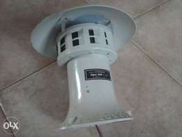 Imported Industrial/Domestic Siren Made in Italy
