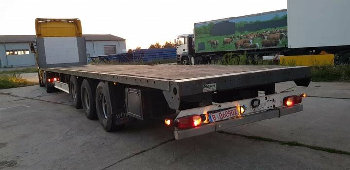 Fliegl SDS  350 u002F Plattform - 2007