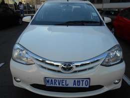 2014 Toyota Etio 1.5 Xs Comfortline Sedan For R95,000