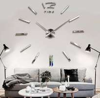 STUNNING 3D Wall Mirrored Clock LARGE