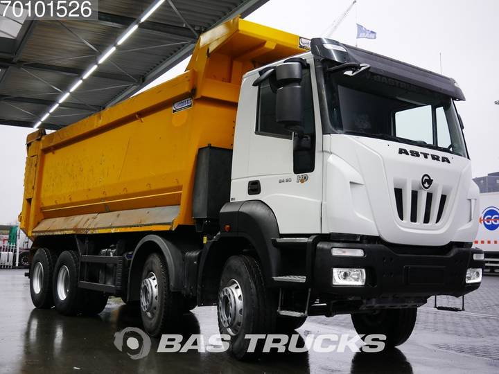 Iveco Astra HD9 84.50 8X4 27m3 Big-Axle Steelsuspension Euro 6 - 2017 - image 3