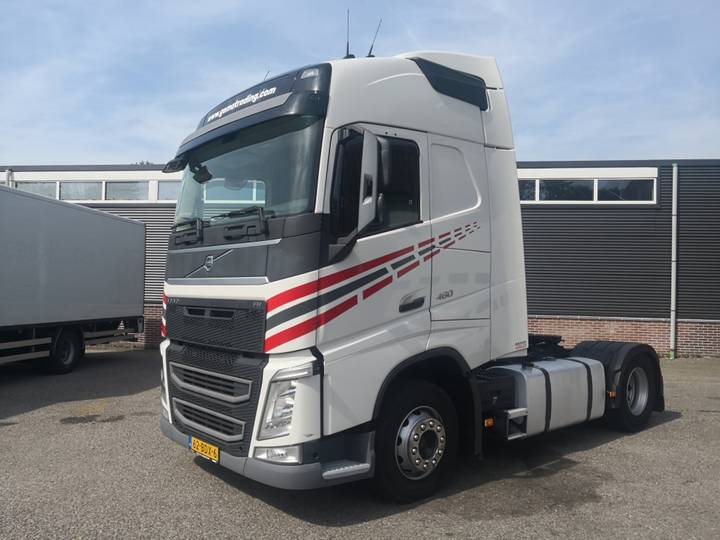 Volvo FH460 4x2 Globetrotter Euro6 - VEB+ - 2 tanks - Fridge - 2014
