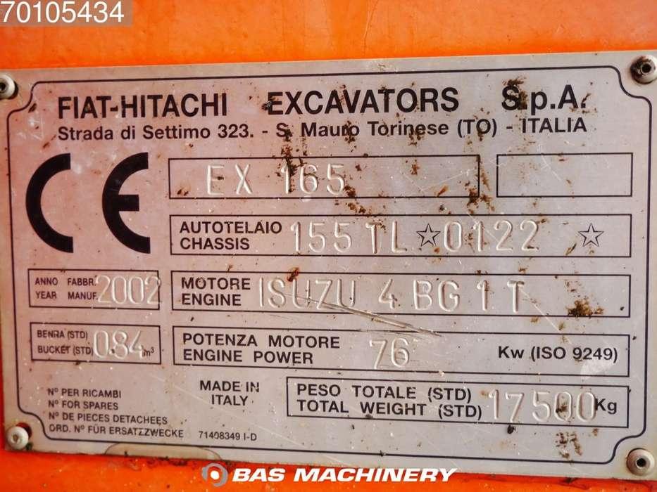 Hitachi EX165 German Dealer Machine - 2002 - image 15