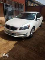 A super clean Nigerian Used Honda Accord 2009