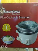 Philip's coffee maker & Ramtons rice cooker and steamer