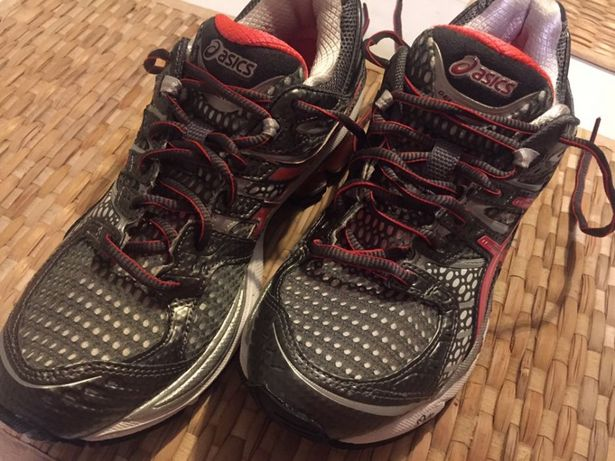 Buty do biegania asics gel kinetic 4, roz. 39 damskie