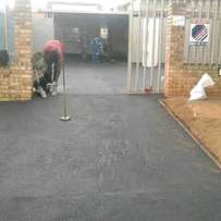 Tarmac black carpet /domestic & industrial driveways & parking areas