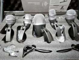 SHURE from mics, 7 piece