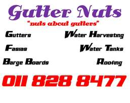 Seamless Gutters, Fascias, Barge Boards And Water Harvesting