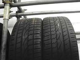 245/45 r20 x 2 Continental Tyres(75% tread)